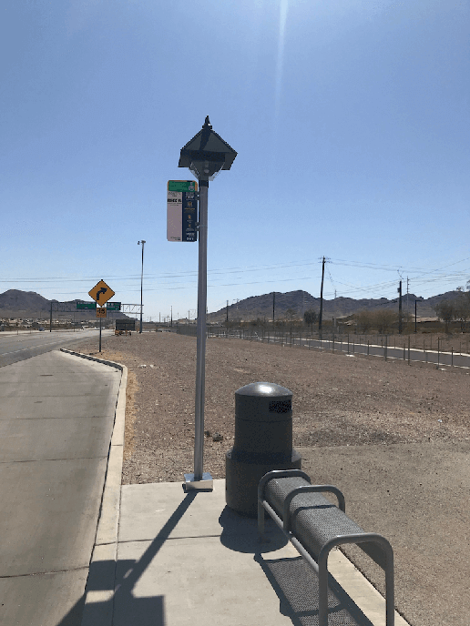 Bus Stop and Shelter Lighting